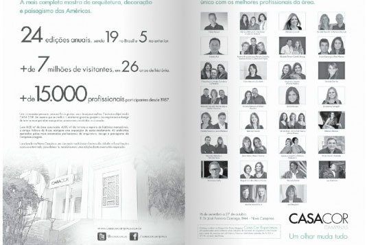 Casa Cor Campinas 2013 – Profissionais
